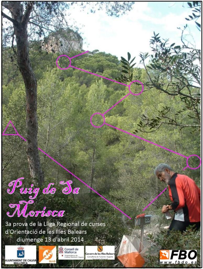 Cartel Sa Morisca 2014