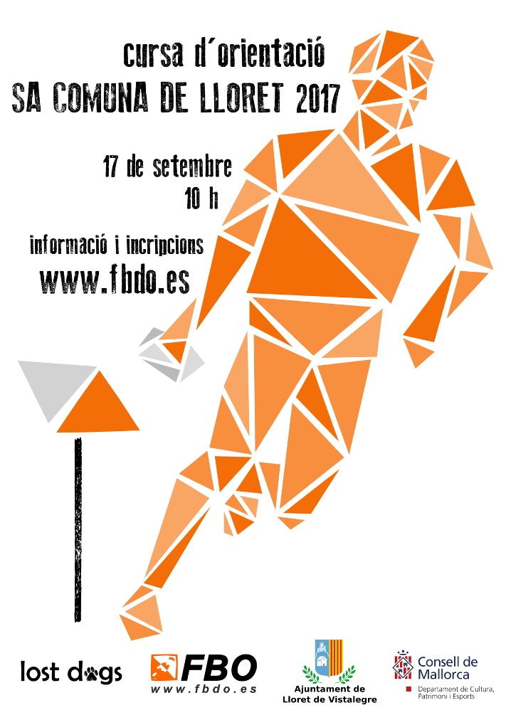 Cartel Sa Comuna de Lloret 2017