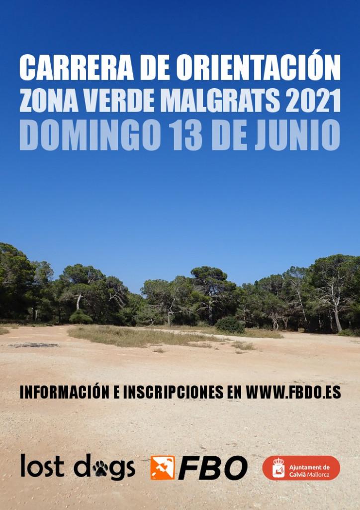 Zona Verda Malgrats 2021 - Cartel Web